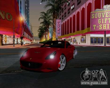 Vitesse ENB V1.1 Low PC for GTA San Andreas seventh screenshot