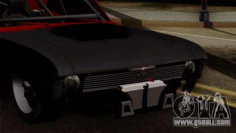 Chevrolet Nova SS for GTA San Andreas inner view