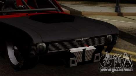 Chevrolet Nova SS for GTA San Andreas inner view