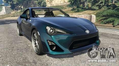 Toyota GT-86 v1.1 for GTA 5