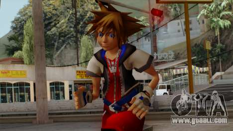 Kingdom Hearts 2 - Sora KH1 Costume for GTA San Andreas