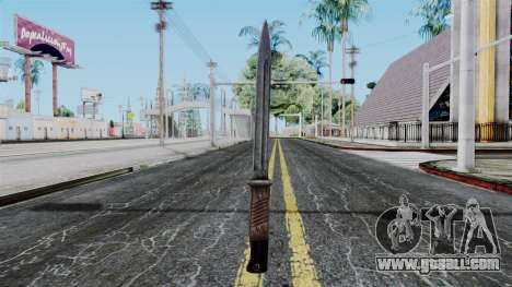 KAR 98 Bayonet from Battlefield 1942 for GTA San Andreas