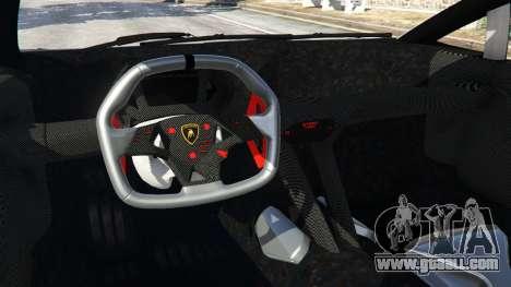 GTA 5 Lamborghini Sesto Elemento v0.5 rear right side view