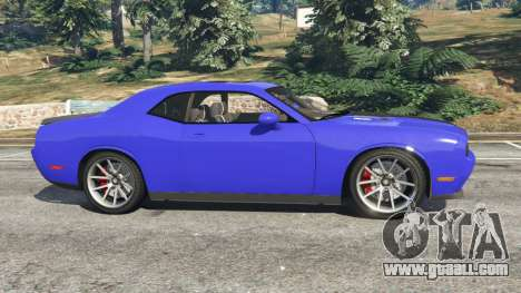 GTA 5 Dodge Challenger SRT8 2009 v0.3 [Beta] left side view