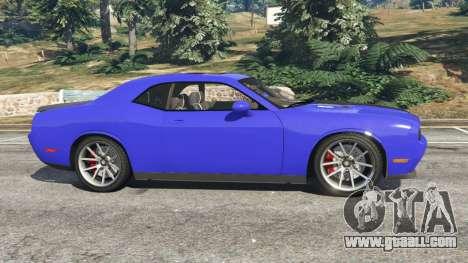 Dodge Challenger SRT8 2009 v0.3 [Beta] for GTA 5
