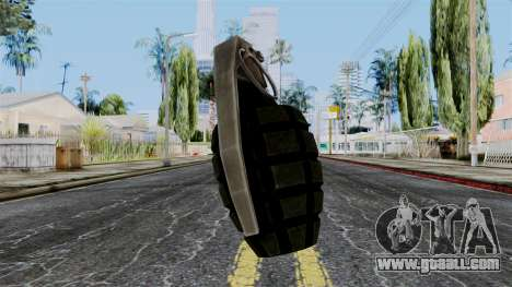 US Grenade from Battlefield 1942 for GTA San Andreas