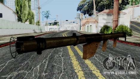 Bazooka from Battlefield 1942 for GTA San Andreas second screenshot