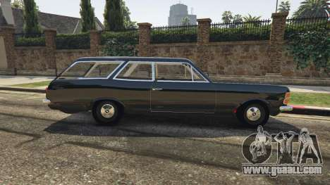 GTA 5 Chevrolet Caravan 1975 2.0 left side view