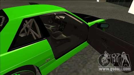 Nissan Silvia S13 Drift Monster Energy for GTA San Andreas back left view