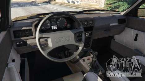 Audi Sport quattro v1.3 for GTA 5
