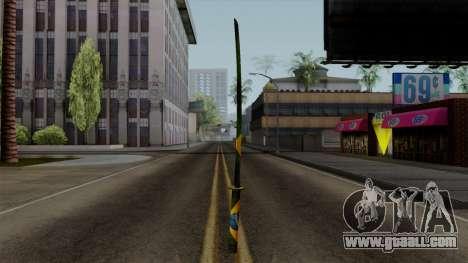 Brasileiro Katana v2 for GTA San Andreas third screenshot
