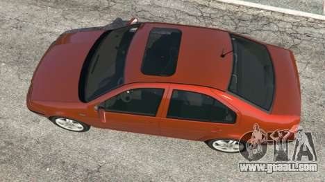GTA 5 Volkswagen Bora back view