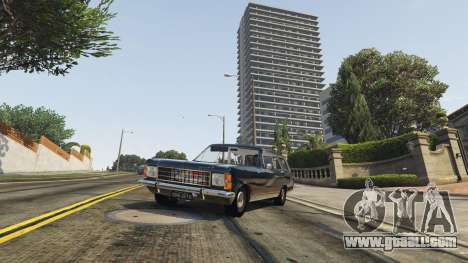 GTA 5 Chevrolet Caravan 1975 2.0 back view