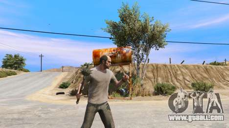 GTA 5 Steel Mace of TES IV Oblivion third screenshot