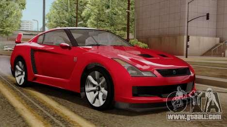 GTA 5 Elegy RH8 for GTA San Andreas