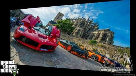GTA 5 Supercars Loading Screens