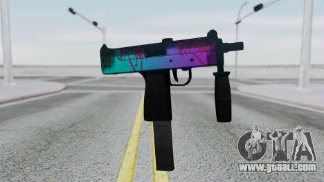 MAC-10 Hotline Miami for GTA San Andreas