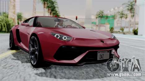 Lamborghini Asterion Concept 2015 v2 for GTA San Andreas