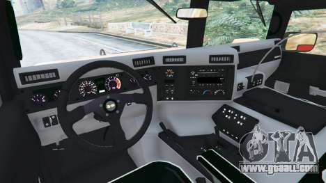 Hummer H1 for GTA 5