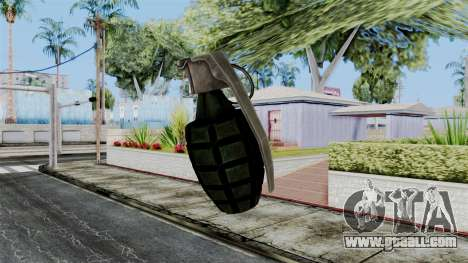 US Grenade from Battlefield 1942 for GTA San Andreas third screenshot