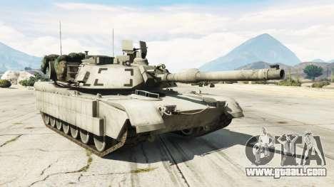 M1A2 Abrams v1.1 for GTA 5