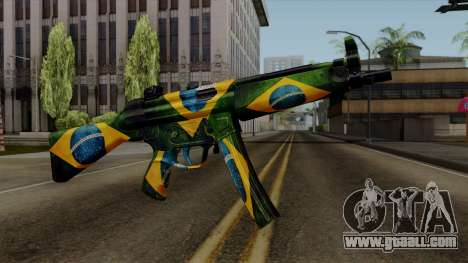 Brasileiro MP5 v2 for GTA San Andreas