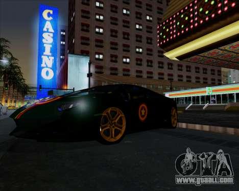 Vitesse ENB V1.1 Low PC for GTA San Andreas second screenshot