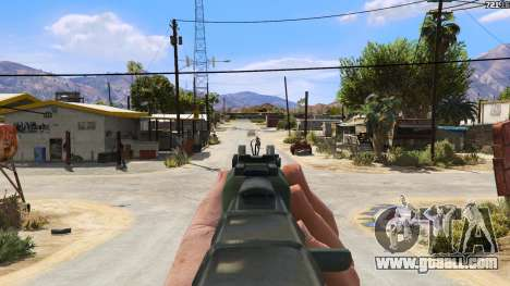 GTA 5 AEK-971 из Battlefield 4 fifth screenshot