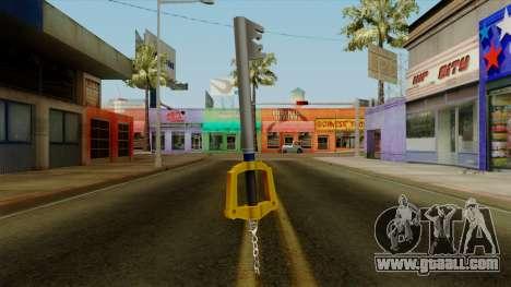 Kingdom Hearts - The Kingdom Key for GTA San Andreas second screenshot
