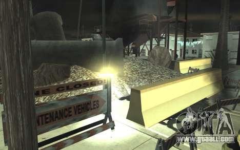 Road repair v2.0 for GTA San Andreas eighth screenshot