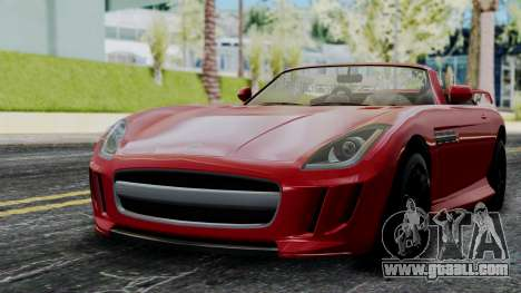 GTA 5 Benefactor Surano v2 IVF for GTA San Andreas