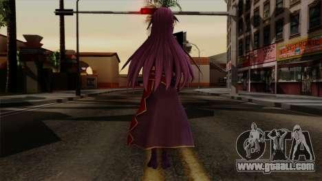 Konno Yuuki for GTA San Andreas third screenshot