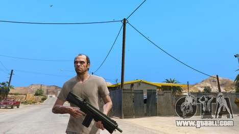 GTA 5 UTAS из Battlefield 4 second screenshot