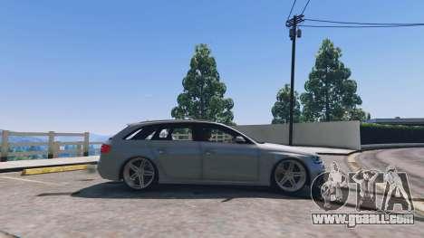 GTA 5 Audi RS4 Avant v1.1 left side view
