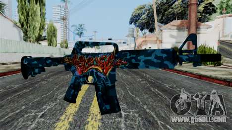 M4A1-S Master Piese for GTA San Andreas