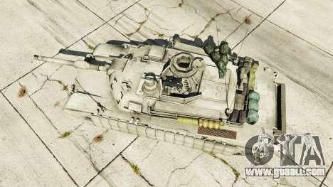 GTA 5 M1A2 Abrams v1.1 back view