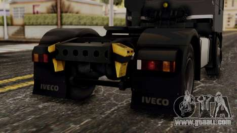 Iveco EuroStar Low Cab for GTA San Andreas upper view