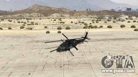 GTA 5 MH-60L Black Hawk fourth screenshot