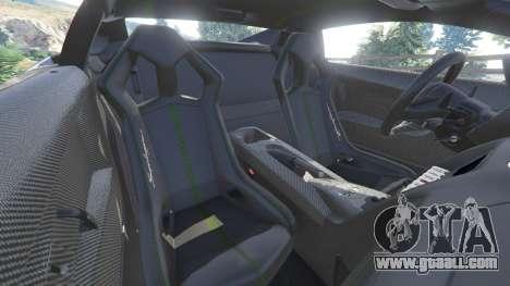 GTA 5 Lamborghini Gallardo LP 570-4 2011 Superleggera steering wheel