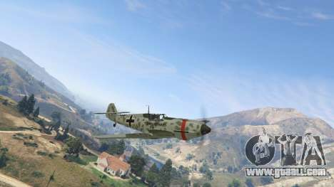 GTA 5 Messerschmitt BF-109 E3 v1.1 second screenshot