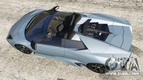 GTA 5 Lamborghini Reventon Roadster [Beta] back view