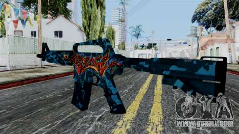 M4A1-S Master Piese for GTA San Andreas second screenshot