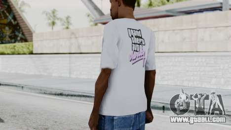 GTA Vice City T-shirt White for GTA San Andreas third screenshot