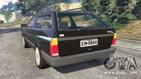 GTA 5 Volkswagen Parati Surf rear left side view