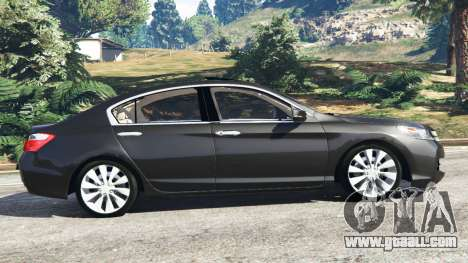 GTA 5 Honda Accord 2015 left side view