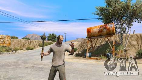 GTA 5 Steel Mace of TES IV Oblivion fourth screenshot