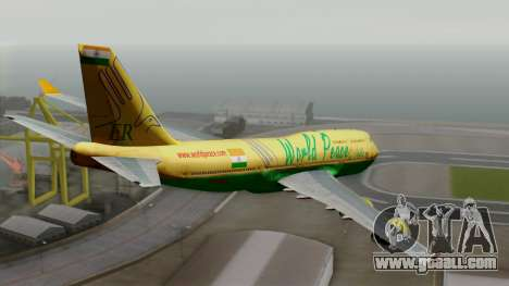Boeing 747-400 World Peace for GTA San Andreas left view