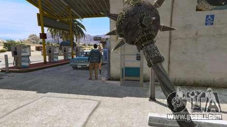 Steel Mace of TES IV Oblivion for GTA 5