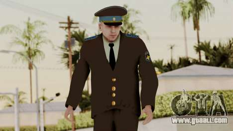 Senior warrant officer of the air force for GTA San Andreas