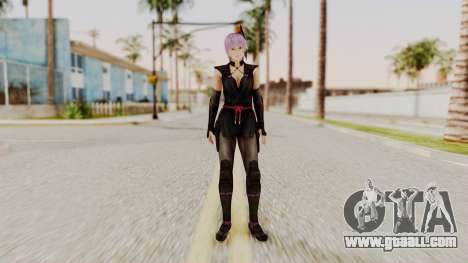 DOA 5 Ayane Ninja for GTA San Andreas second screenshot